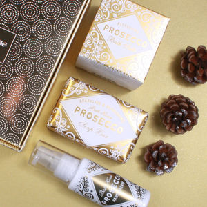 Prosecco Gift Box Pamper - bathroom