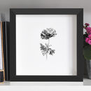 Anemone Flower Print Two