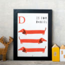 Personalised Animal Print