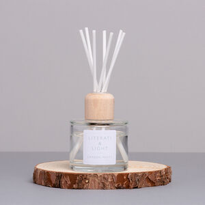 Garden Party Tea Rose, Cut Grass Luxury Reed Diffuser