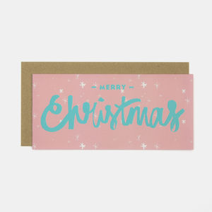 Merry Christmas Greeting Card - cards