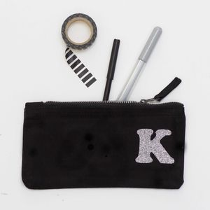 Personalised Initial Pencil Case Stocking Filler