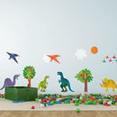 Childrens Dinosaur Wall Sticker Pack