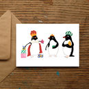 'We Three Pengwingkings' Penguin Christmas Cards