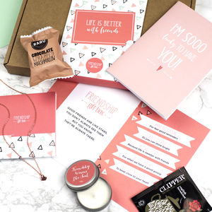 Personalised Letterbox 'Friendship Gift Box' - our sale top picks