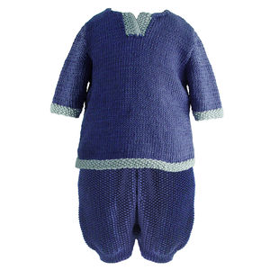 Handmade Bamboo Boys Top And Shorts Set - clothing