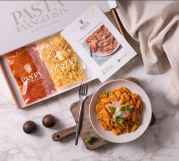 Gourmet Fresh Pasta For Two: Five Week Subscription