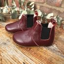 'Claret Chelsea Boots' For Toddlers And Children