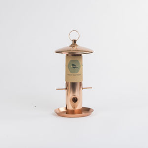 Copper Bird Seed Feeder Gift Box