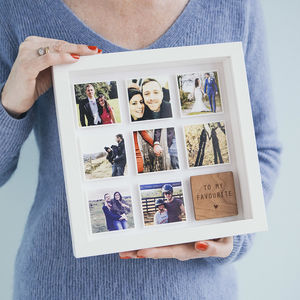Personalised Best Friend Framed Print - capturing memories