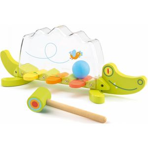 Wooden Crocodile Hammering Pounding Toddler Toy