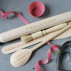 Personalised Adult Baking Kit And Apron - personalised mother's day gifts