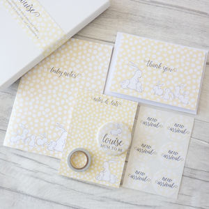 Baby On The Way Stationery Gift Set