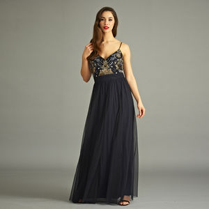 Bettie Cami Strap Maxi Dress