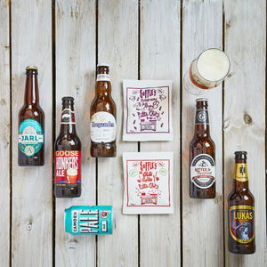 Craft Beer And Savoury Treats Gift For Any Beer Lover