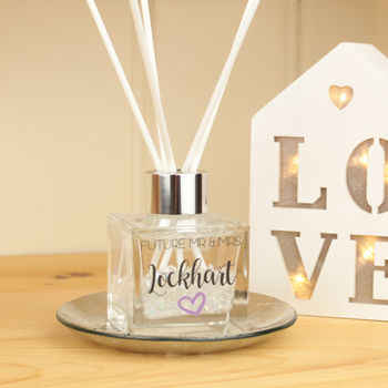 Personalised Engagement Crystal Reed Diffuser