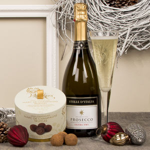 Prosecco And Marc De Champagne Chocolate Truffles - hampers