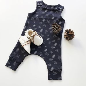 Handmade Leaf Romper - clothing