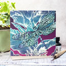 Dragonfly Lily Blank Gift Card