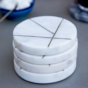 Contemporary Marble Coasters