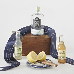 East London Gin And Tonic Gift Set - artisan alcohol