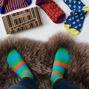 Monthly Sock Subscription - gifts for him
