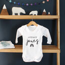 Personalised New Born, Littlest Babygrow