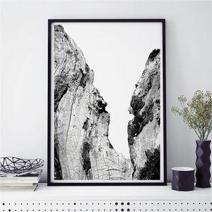 Monochrome Art Prints 'Tree Print'