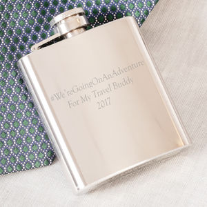 Personalised Gentlemen's Whiskey Hip Flask - kitchen accessories