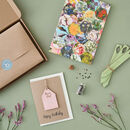 Personalised Letterbox Gift Set For Gardeners