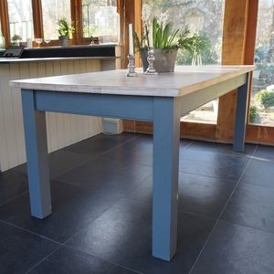 Beckford Table Hand Painted In Any Colour - country kitchen tables