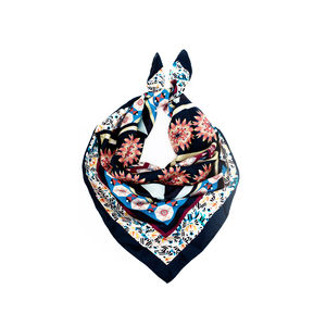 Limited Edition Silk Twill Scarf Designed By Lucy Jay - view all new