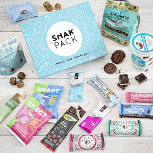 The Vegan Delux, Luxury Snack Collection - personalised gifts for her