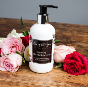 Rose And Frangipani Hydrating Hand And Body Cream
