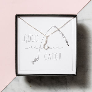 Good Catch Necklace Giftbox - necklaces & pendants