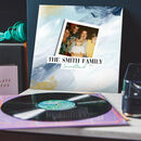 Personalised Family Soundtrack Vinyl Record