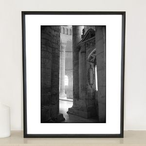 Columns, Chinon, France Photographic Art Print