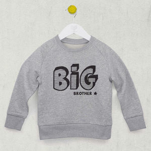 Big Brother Or Big Sister Sweatshirt