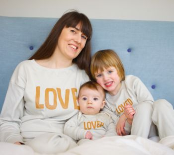 New Mum Gift Matching Pyjama Love Set