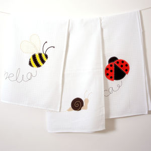 Little Bug Baby Muslins - soft furnishings & accessories