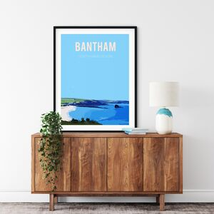 Bantham, South Hams Devon Fine Art Print