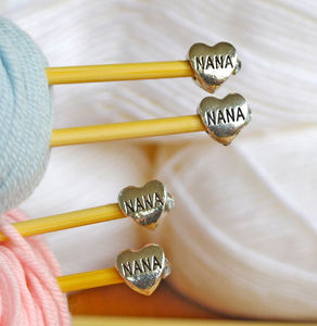 Nana Knitting Needles Two Pair Gift Set - creative kits & experiences