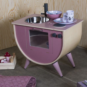 Vintage Rose Wooden Play Kitchen