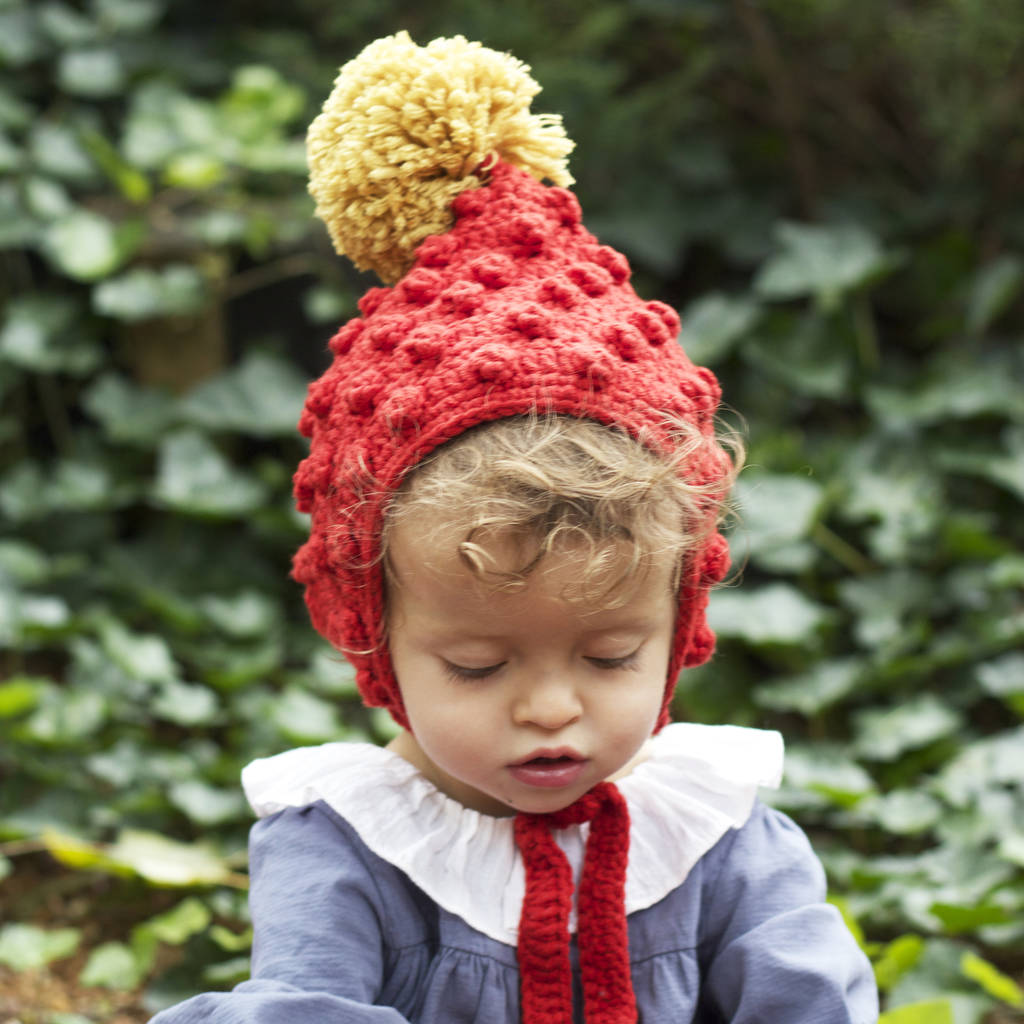 baby and child rusty red pixie hat by viv   joe  4403b93e793