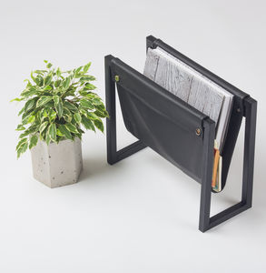 Metal Magazine Rack - living room