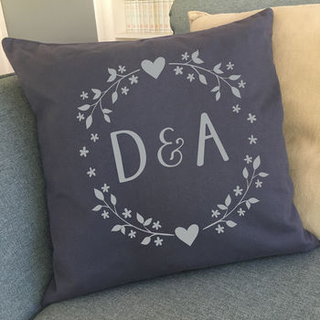 Personalised Initials Cushion