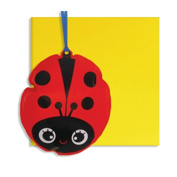 Ladybird Inflatable Card