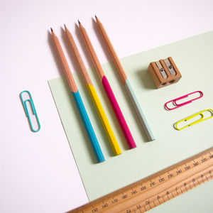 Hand Painted Pencil Set