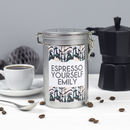 Personalised Coffee Gift In Tin