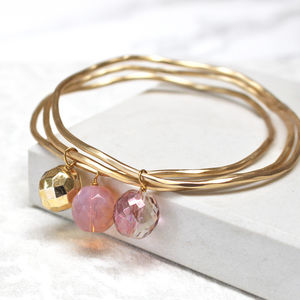 Stacking Bangles Made With Swarovski Crystals - women's jewellery
